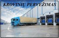 Pervežame krovinius Alytus-Rokiskis-Alytus, bei visoje Lietuvoje