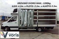 Pervežame krovinius Alytus-Skuodas-Alytus, bei visoje Lietuvoje.