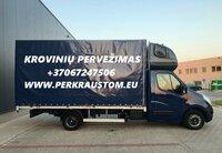 Pervežame krovinius Alytus-Silale-Alytus, bei visoje Lietuvoje.