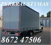 Krovinių Pervežimas tentiniu mikroautobusiuku Lietuva – Marselis