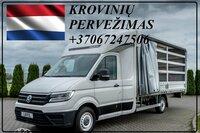Krovinių Pervežimas tentiniu mikroautobusiuku Lietuva –