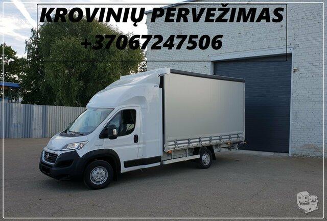 Pervežame krovinius ALYTUJE ir visoje Lietuvoje. Taipogi