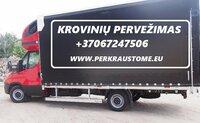Krovinių pervežimas, perkraustymas Lietuvoje ir Europoje. Galime