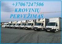 Pervežimai krovininiais mikroautobusais Lietuvoje ir Europoje EL
