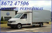 Įvairių krovinių pervežimas mikroautobusais. EL.PAŠTAS: info