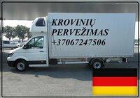 Krovinių pervežimas iš ir į Vokietiją DE-LT-DE