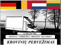 Lietuva- Vokietija - Olandija - Belgija lt-de-nl-be