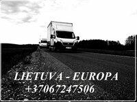 Lietuva - Europa - Lietuva ! Express kroviniai +37067247506