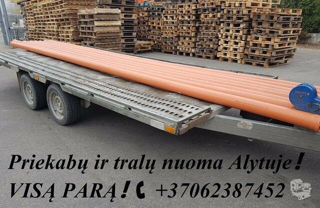 +37062387452 www.tralunuoma.lt  Platformų, Tralų ir Priekabų