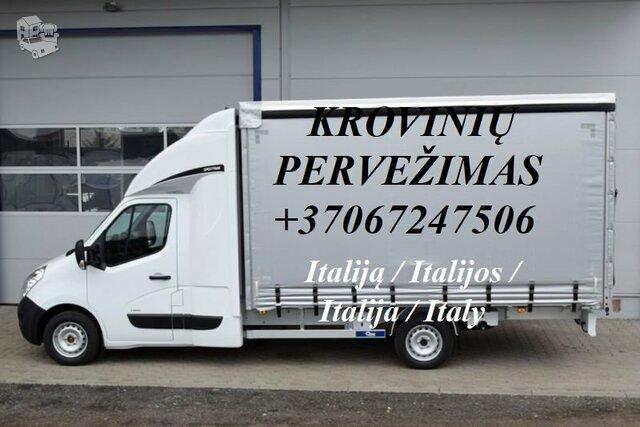 Tarptautiniai perkraustymai Lietuva-ITALIJA