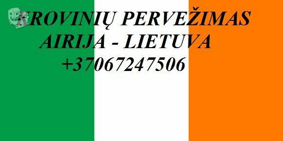 Gabename iš Airijos ir į Airiją.