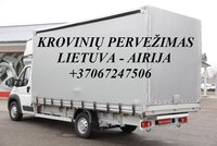 Tarptautiniai perkraustymai Lietuva-AIRIJA-Lietuva