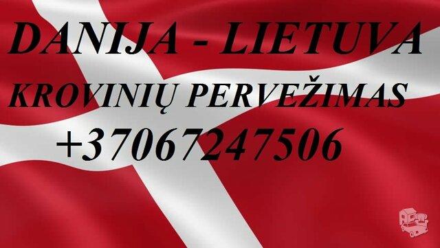 Tarptautiniai perkraustymai Lietuva-DANIJA-Lietuva.