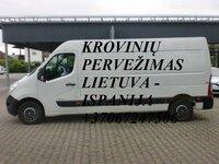 Tarptautiniai perkraustymai Lietuva-ISPANIJA-Lietuva