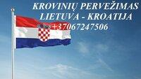 Perkraustymo paslaugos KROATIJA-Lietuva-KROATIJA  LT-HR-LT
