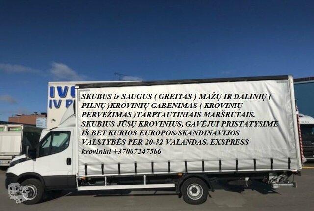 Tarptautiniai perkraustymai Lietuva-LENKIJA-Lietuva