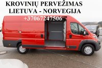 Perkraustymo paslaugos NORVEGIJA-Lietuva-NORVEGIJA  LT-NO-LT