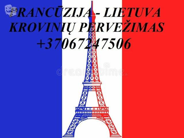 Perkraustymas į Prancūziją!Perkraustymas iš Prancūzijos!