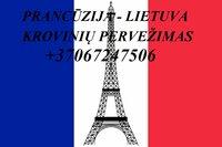 Perkraustymo paslaugos Prancūzija-Lietuva-Prancūzija LT-FR-LT