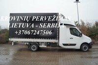 Tarptautiniai perkraustymai Lietuva-SERBIJA-Lietuva.