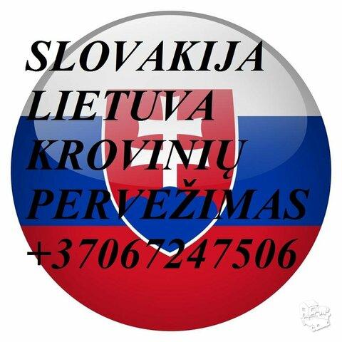 Tarptautiniai perkraustymai Lietuva-Slovakija-Lietuva