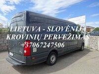 Perkraustymas į Slovėniją ! Perkraustymas iš Slovėnijos!