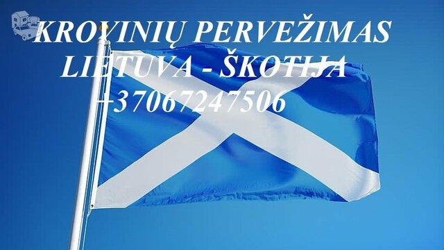 Tarptautiniai perkraustymai Lietuva-ŠKOTIJA-Lietuva.