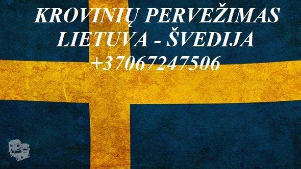 Perkraustymas į Švediją !