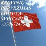 Perkraustymo paslaugos Šveicarija-Lietuva-Šveicarija LT-CH-LT