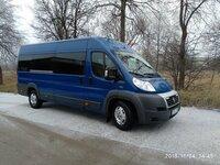 Keleiviu pervežimai 17 vietu mikroautobusu