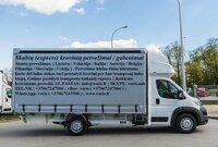Krovinių ir verslo siuntų pervežimas visoje Europoje! Pristatome