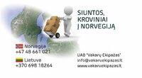 Siuntos, kroviniai į Norvegiją iš Kauno 869818264