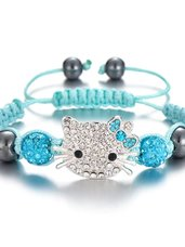 Hello Kitty apyrankė, mėlynos spalvos