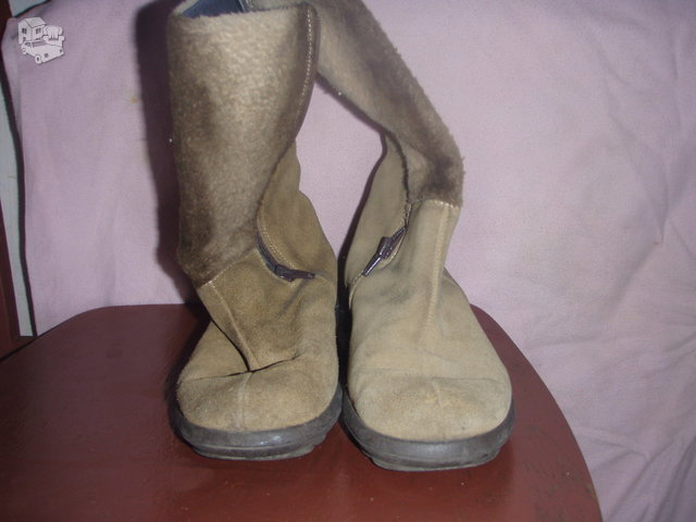 Ilgaauliai batai mergaitei