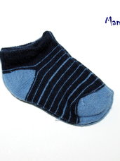 Mėlynos kojinytės kūdikiams tik po 0,99 eur.
