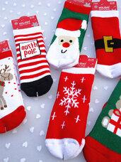 Kalėdinės vaikiškos kojinaitės
