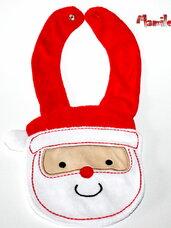 """Kalėdiniai seilinukai """"KALĖDŲ SENELIS"""""""