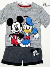 """Komplektukai kūdikiams """"Donaldas ir Mikis"""""""