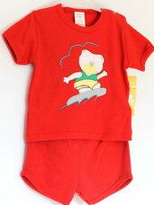2 dalių kostiumėlis berniukui: marškinėliai ir šortukai
