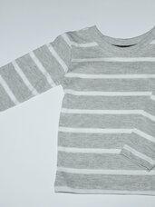 Dryžuoti marškinėliai ilgomis rankovįmis berniukams