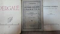 3 knygos