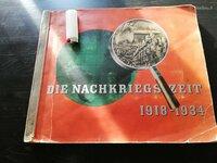 Ww1 vokiska knyga albumas.