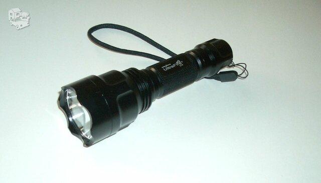 Naujas medžioklinis UltraFire C8 prožektorius 1 režimas