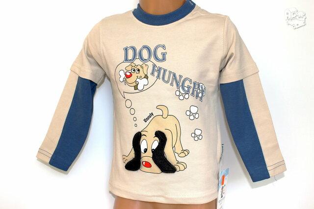 Kokybiški, gražūs džemperiai berniukams su šuniukais