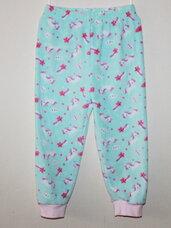 """Šiltos pižaminės kelnės mergaitėms """"VIENARAGIS"""""""