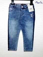 Ypatingai stilingi vintažinio stiliaus Skinny džinsai mergaitėms