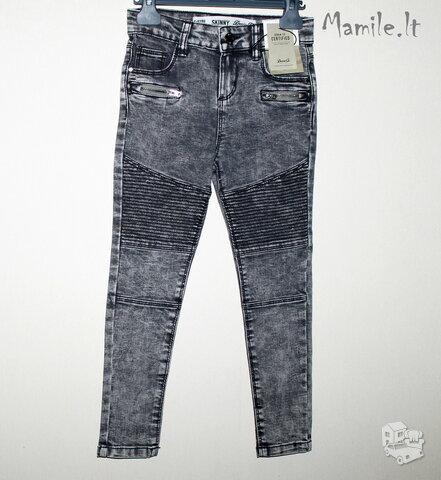 Ypatingai stilingi Skinny stiliaus džinsai mergaitėms