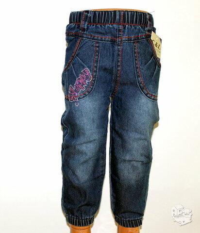 Puošnūs Aladino stiliaus džinsai su žėručiais