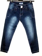 Nauji džinsai su nedideliu defektu 4-6 metų mergaitei.