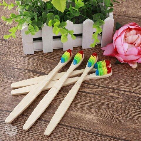 Bambukinis dantų šepetėlis, vaikiškas